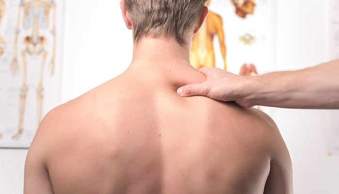 Adolescent with back pain